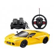 Carro R/C Racing SpeedX Amarelo MultiKids BR1143