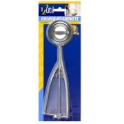 Colher de Sorvete Inox c/ Ejetor Manual Grande 123 Util UD170