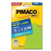 Etiquetas Pimaco A5R-909 12F 2304 Etiquetas 9,0mm