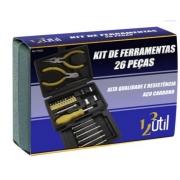 Kit de Ferramentas c/ 26 Peças 123 Util FR223