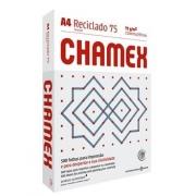 Papel Sulfite A4 75g 500fls Reciclado Chamex Eco