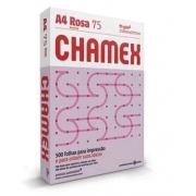 Papel Sulfite A4 75g 500fls Rosa Chamex Colors