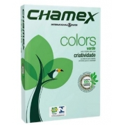 Papel Sulfite A4 75g 500fls Verde Chamex Colors
