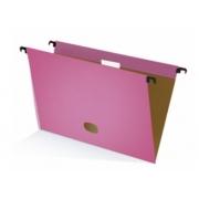 Pasta Suspensa Plastificada Kraft Color Pink Acrimet 697.3