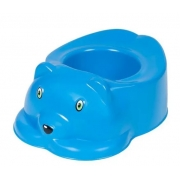 Penico Plastico Infantil Urso Azul Styll PEN.99.001.09