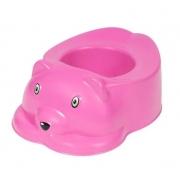 Penico Plastico Infantil Urso Rosa Styll PEN.99.002.55