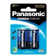 Pilha Media C Comum c/ 2 Panasonic