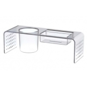 Porta Lapis/Lembrete/Celular Acrilico Cristal Maxcril 10170037