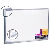 Quadro Branco Moldura Aluminio 100x80cm STD Cortiarte 402320
