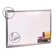 Quadro Branco Moldura Aluminio 60x80cm STD Cortiarte 3006