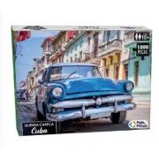 Quebra Cabeça 1000 Pçs Premium Cuba Pais e Filhos 10759