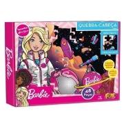 Quebra Cabeça 48pçs Barbie Cartonado Fun 8688-8