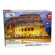 Quebra Cabeça 500 Pçs Coliseu Pais e Filhos 7265
