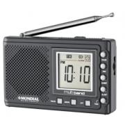 Radio Portatil Mondial Multi Band II RP-04 AM/FM - Grafite 30863