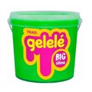 Slime Gelele Balde Big 1.5kg Glitter Cores Sortidas Doce Brinquedo 3478