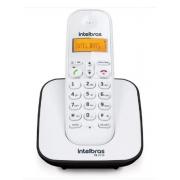Telefone s/ Fio Digital  Intelbras Ts3110 c/ identificador de chamada Branco/Preto Bivolt - 4123153