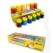 Tinta Guache 15ml 12 Cores Acrilex 02012
