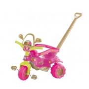 Triciclo c/ Aro Tico Tico Dino Pink Magic Toys 2804