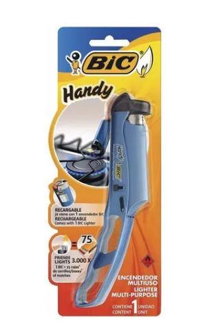 Acendedor Bic Handy Multiuso c/ Esqueiro Recarregavel  - Mundo Mágico