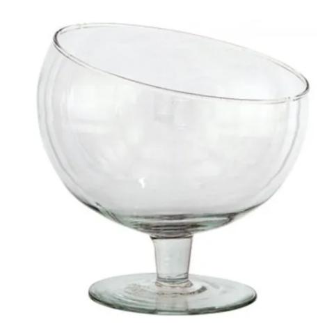 Bomboniere Vidro Taça Boca Torta 16,5x19,5cm Imperial 10422  - Mundo Mágico