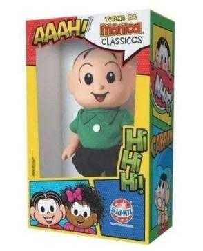 Boneco Turma da Monica Cebolinha Classico Vinil Sid Nyl 978  - Mundo Mágico