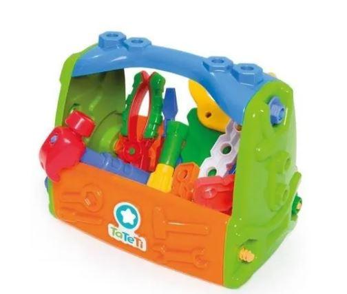Caixa de Ferramentas Infantil Sacola Calesita 454   - Mundo Mágico