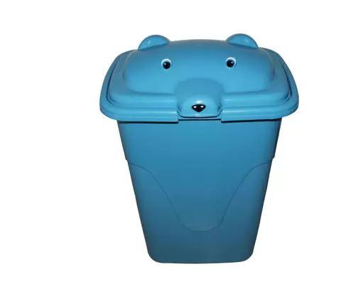 Cesto Infantil Urso 48L Azul/Rosa AJA CI-480   - Mundo Mágico