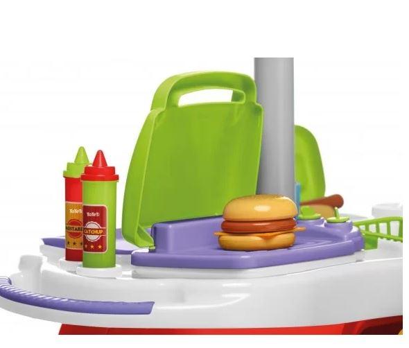 Cozinha Food Truck TaTeTi 0353  - Mundo Mágico