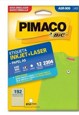 Etiquetas Pimaco A5R-909 12F 2304 Etiquetas 9,0mm  - Mundo Mágico