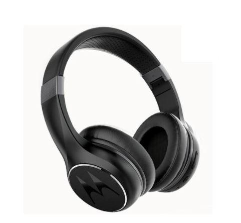 Fone Headphone Bluetooth Motorola Escape 200 BT Preto  - Mundo Mágico