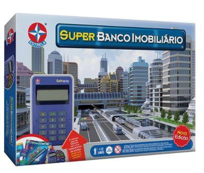 Jogo Super Banco Imobiliario Estrela 1201602800053  - Mundo Mágico