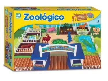 Jogo Tabuleiro Zoológico Nig 0234  - Mundo Mágico