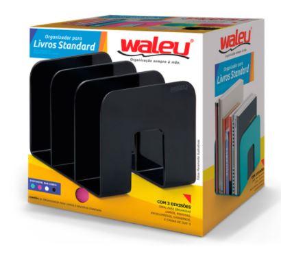 Organizador de Livros Standard Waleu 10170001  - Mundo Mágico