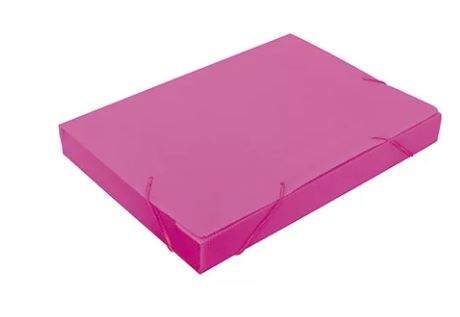 Pasta Polionda Of. 20mm Rosa Nova Onda Polibras 20210  - Mundo Mágico