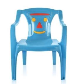 Poltrona Infantil Azul Arqplast PI52  - Mundo Mágico