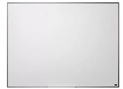 Quadro Branco Moldura Aluminio 120x90cm STD Cortiarte 2321  - Mundo Mágico