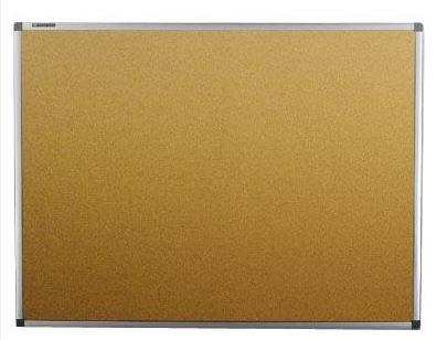 Quadro de Aviso Cortiça Moldura Aluminio 90x60cm Sousa 3213  - Mundo Mágico