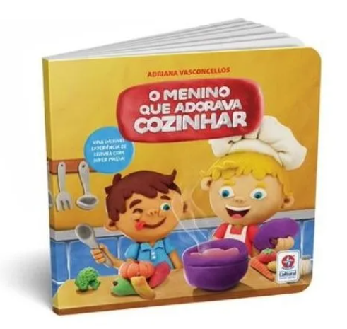 Super Massa Cozinha Criativa c/ Livro Estrela 3005101300015  - Mundo Mágico