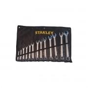 Jogo de Chave Combinada com 13 Peças Stanley