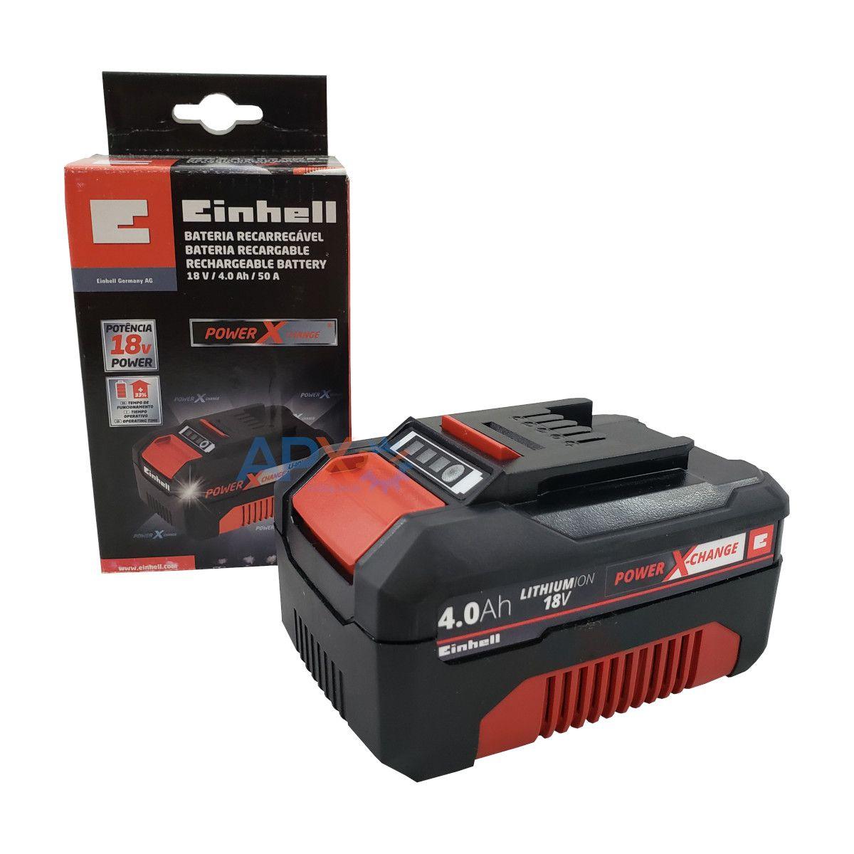 Bateria de 4.0 Ah power X-Change 18V Einhell - 4511412