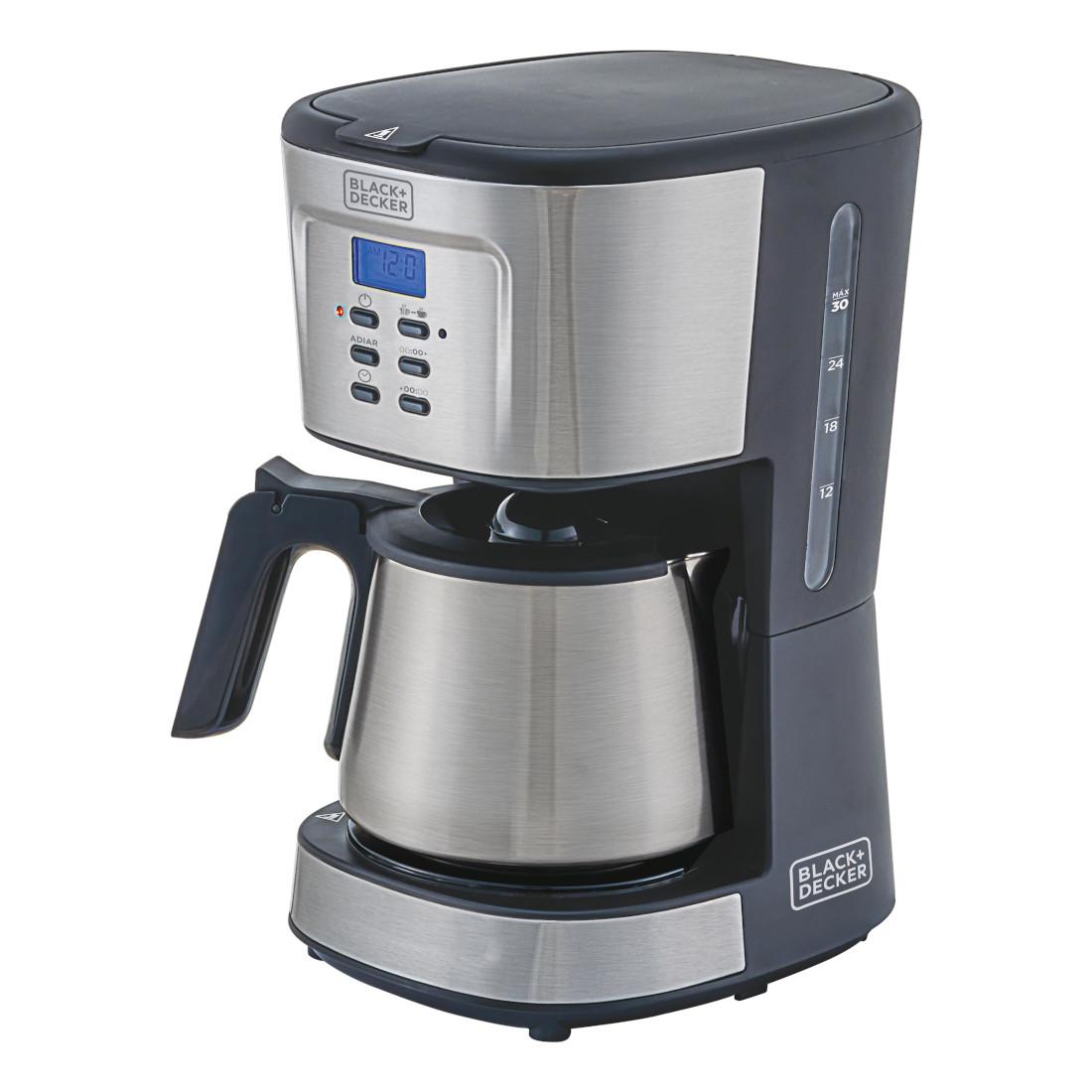 Cafeteira Elétrica Black & Decker Gourmand Gris Inox 220v - Cm300g