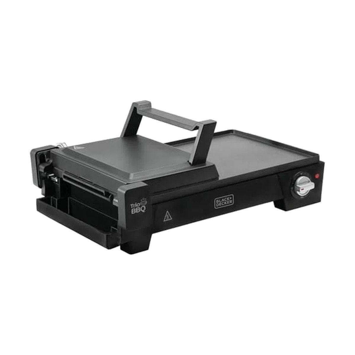 Grill Elétrico 3 em 1 Sanduicheira e Churrasqueira Black Decker g2200