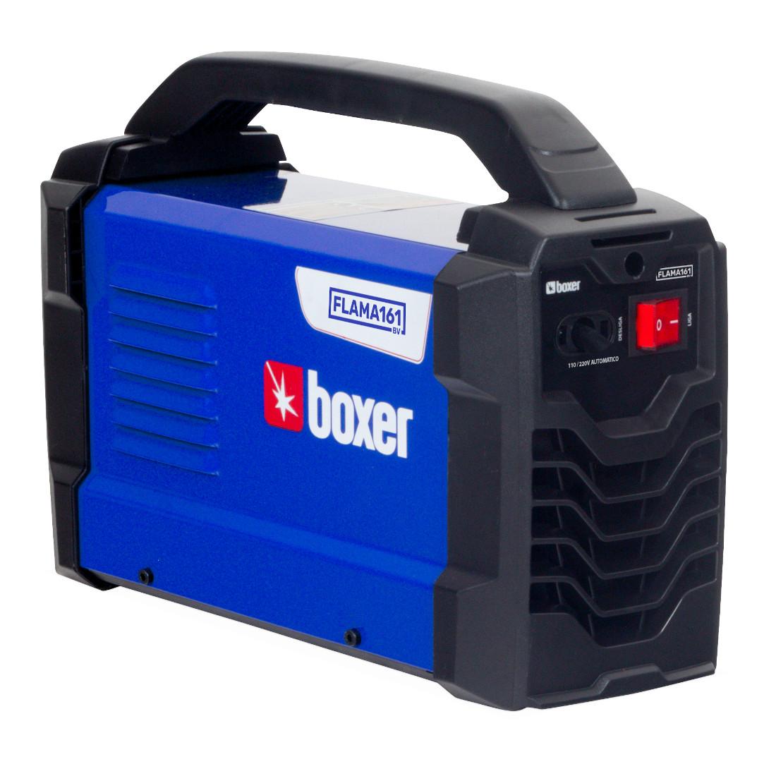 Máquina Inversora de Solda, 160amp, Bivolt, BOXER - FLAMA161BV