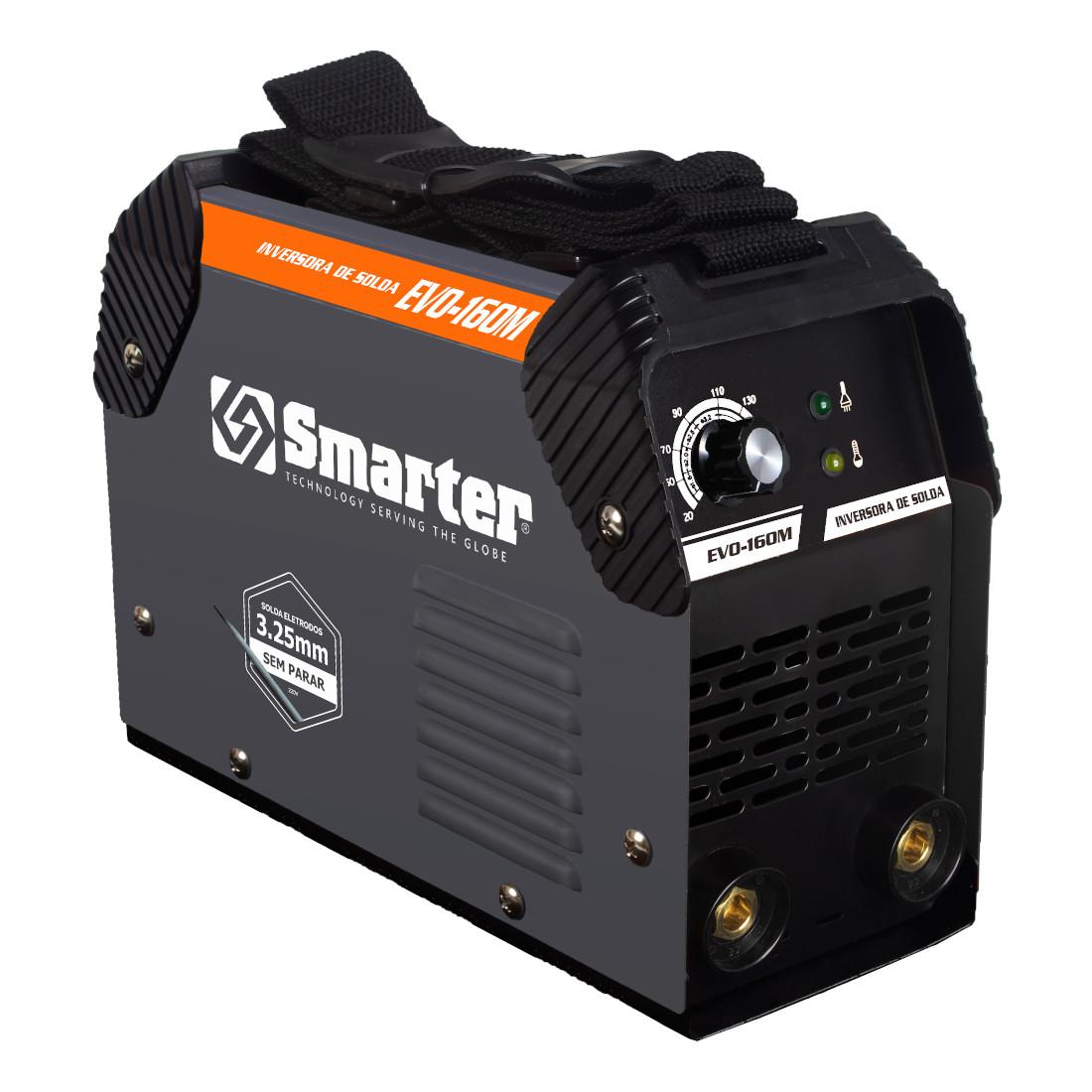 Máquina Inversora de Solda, Bivolt, SMARTER - EVO160M