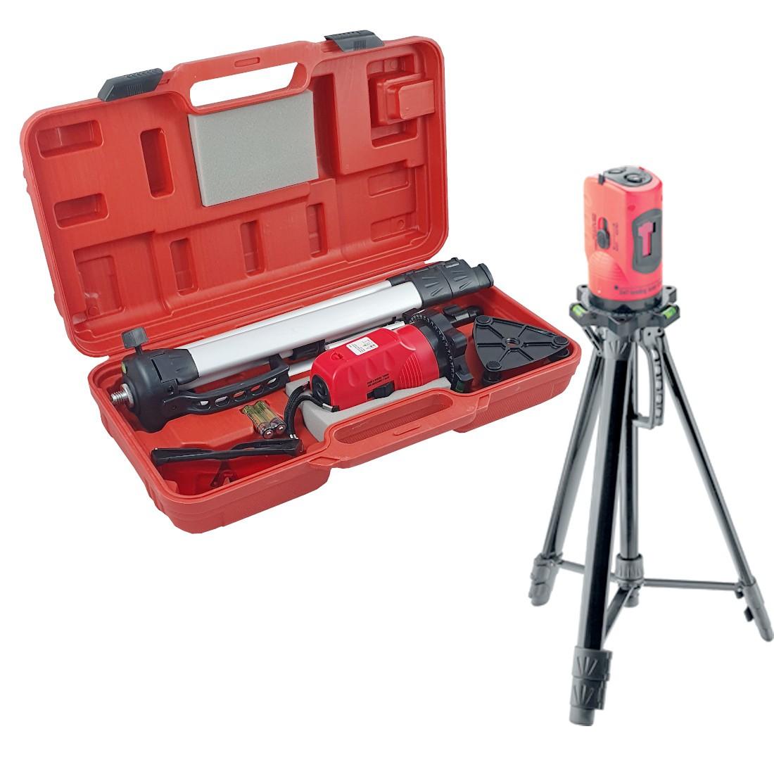 Nível Laser Autonivelante 10m Com Tripe e Maleta Mtx 350339