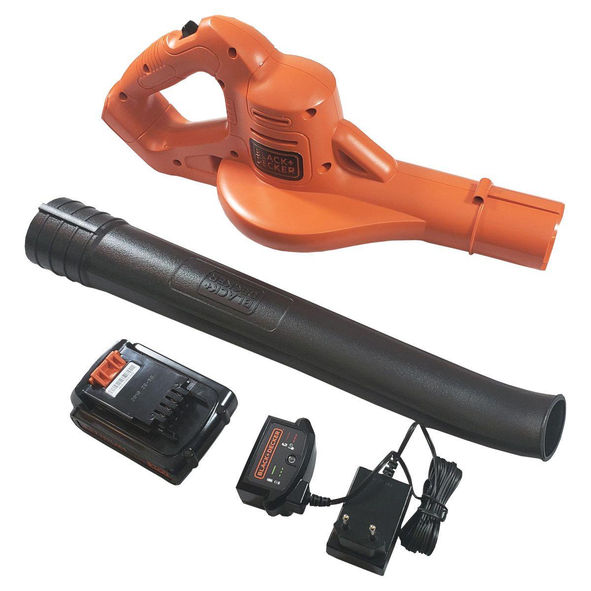 Soprador de Folhas à Bateria Black e Decker 20V Max LSW221