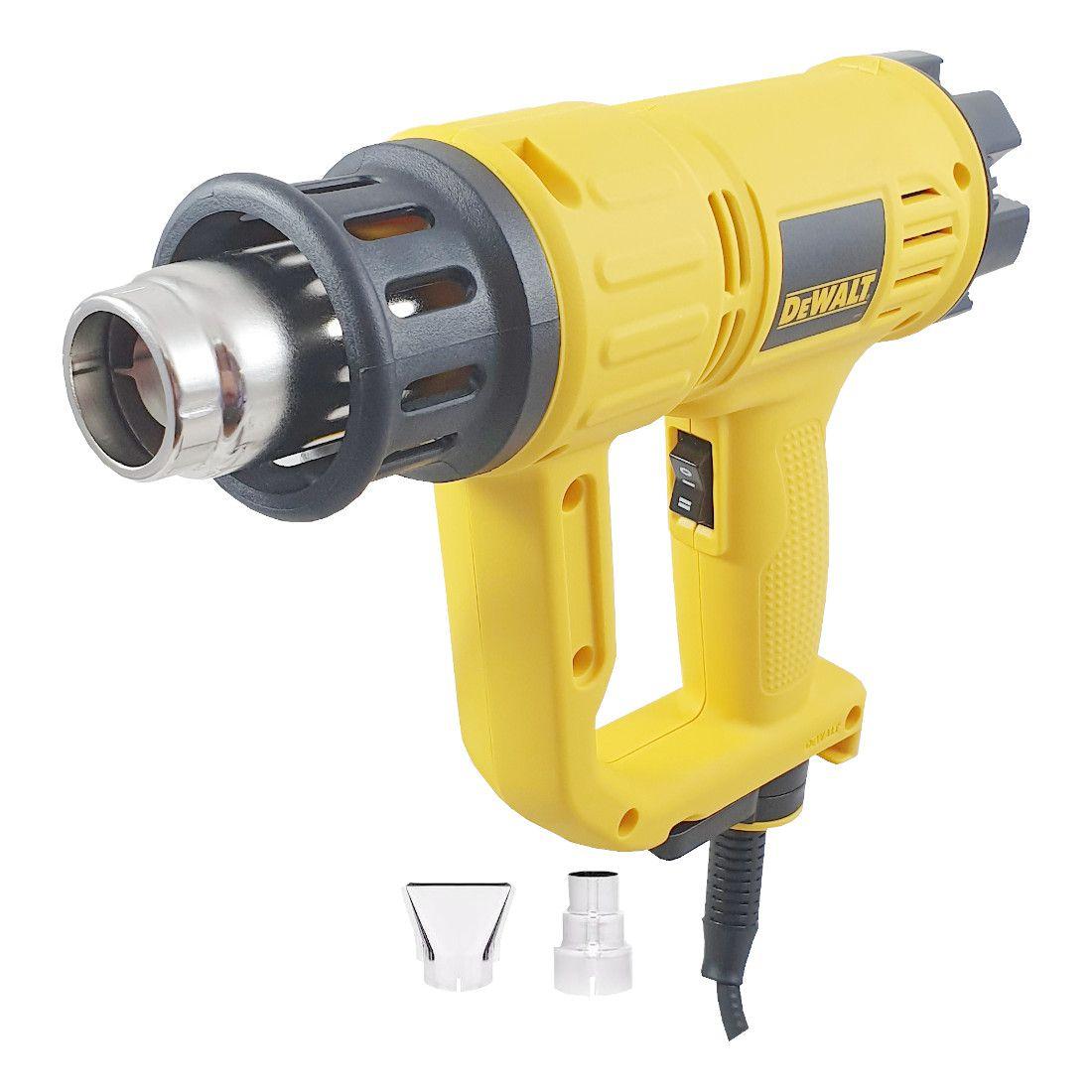 Soprador Térmico 2000W 50 a 600 graus Dewalt D26411