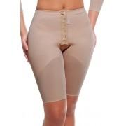 Cinta cintura normal, meia perna com abertura frontal - NUDE