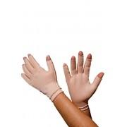 Luva com dedos, curta, UNISSEX - BEGE