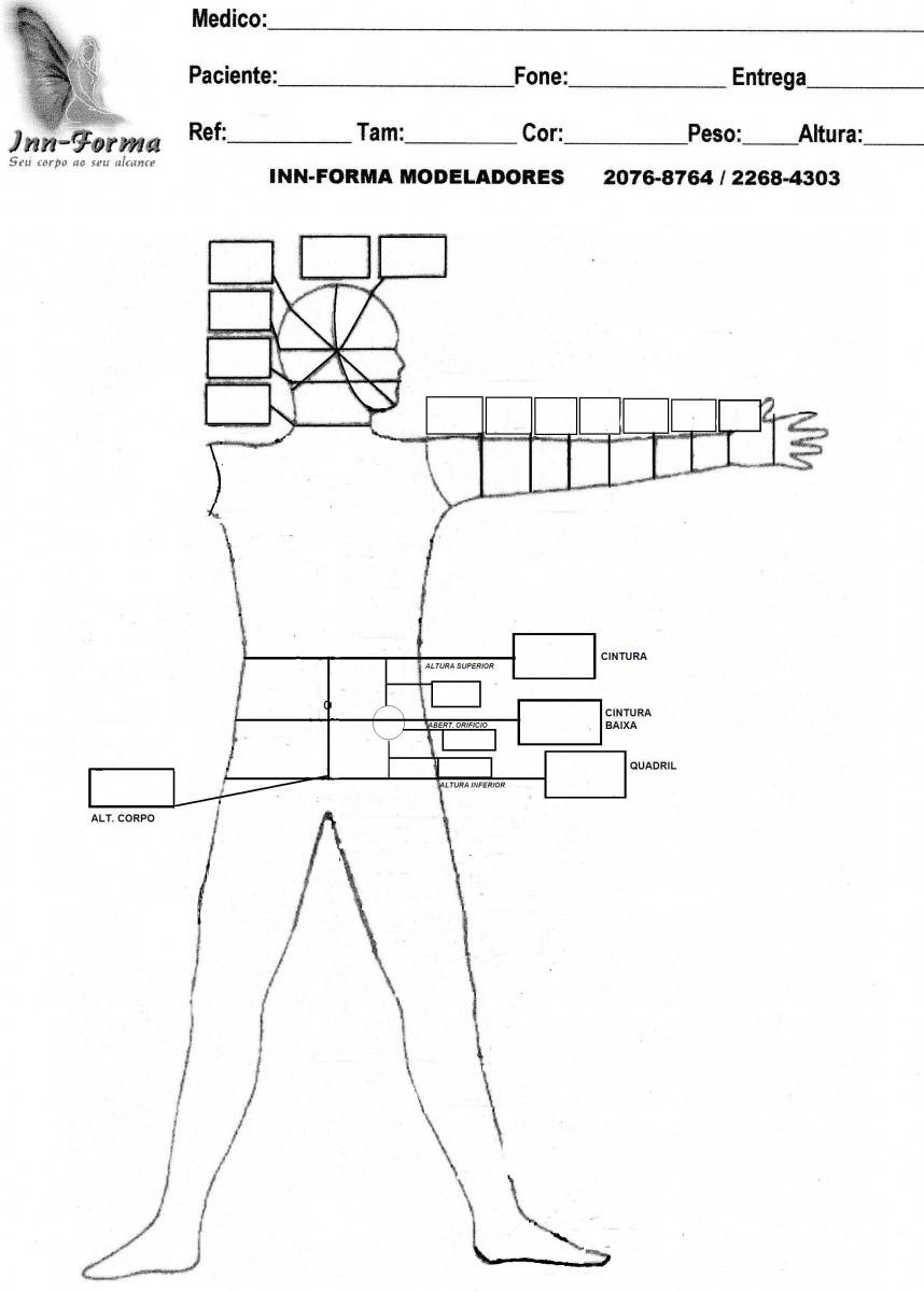 Faixa UNISSEX, LADO ESQUERDO para bolsa de colostomia TAM 57mm - NUDE